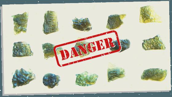 Moldavite and it's dangers