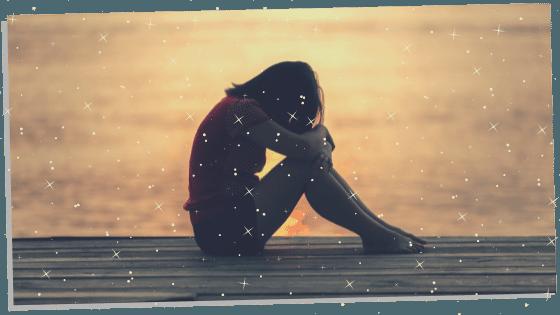 Woman having a spiritual awakening