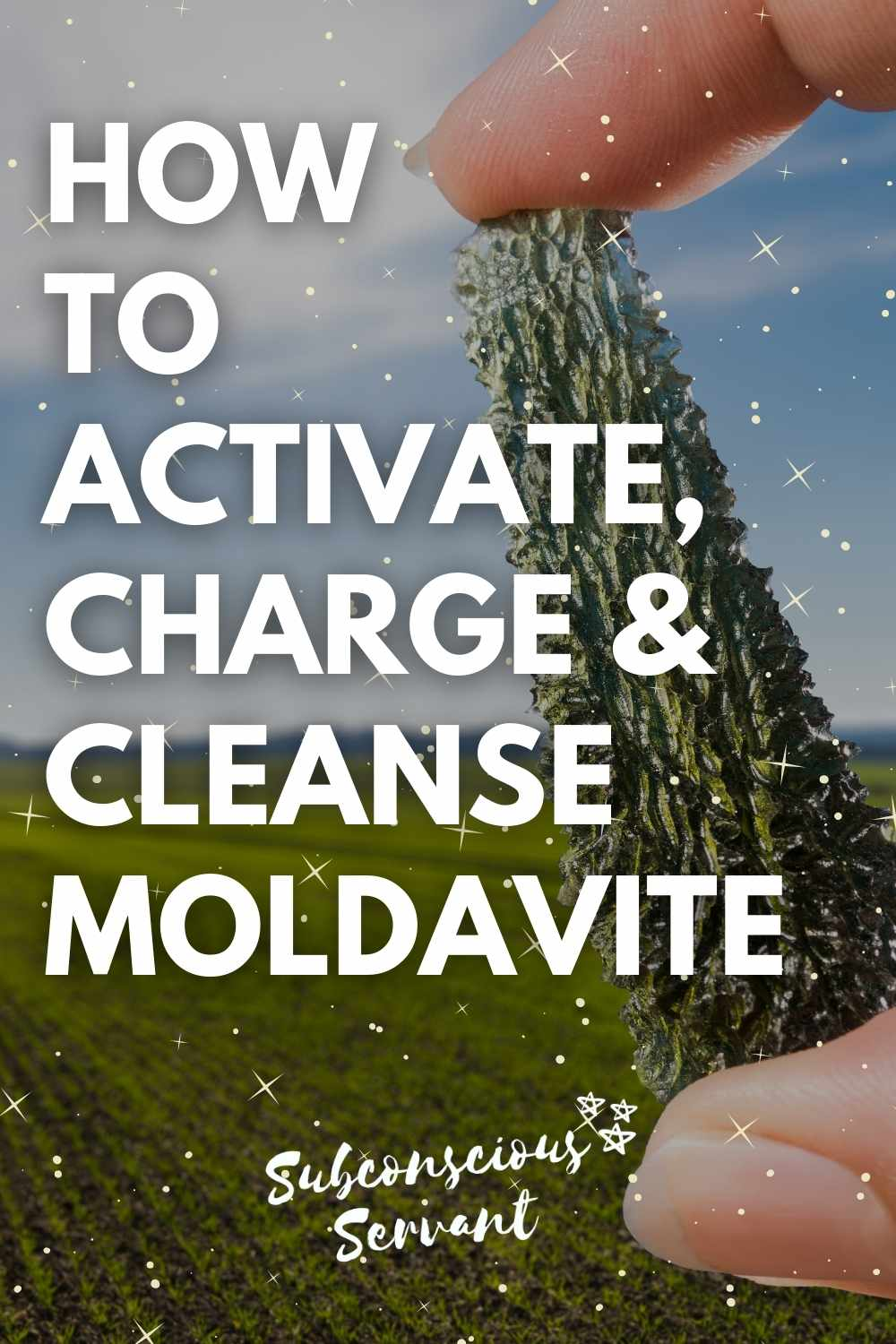 How To Activate, Charge & Cleanse Moldavite