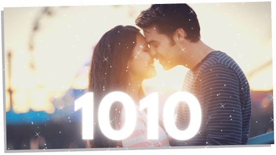 twin flames with the number 1010