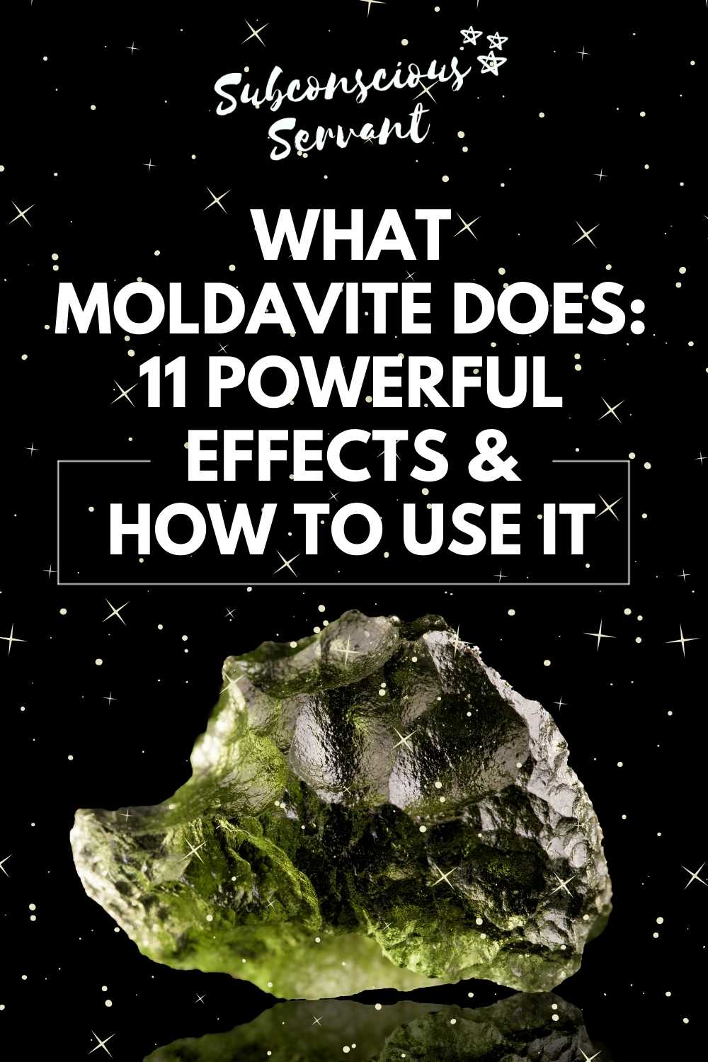 What Moldavite Does: 11 Powerful Effects & How To Use It