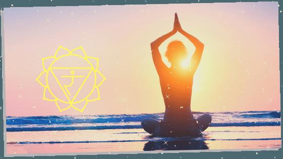 meditating on opening the solar plexus chakra