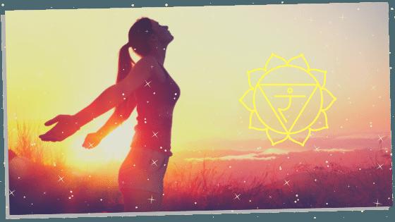 woman living free when her solar plexus chakra is opening