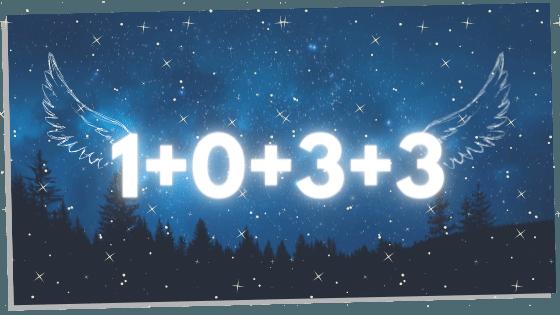 breaking down 1033 in numerology