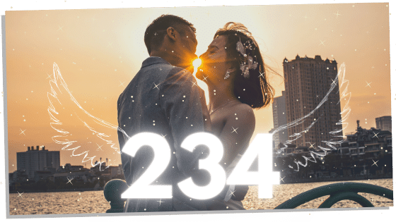 234 and twin flames in a reunion