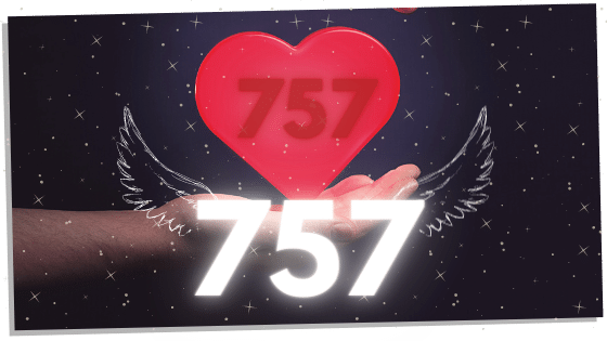 757 and a heart