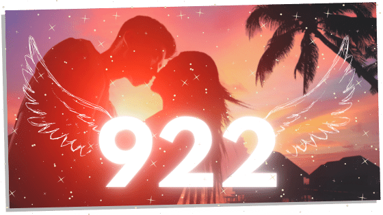 twin flames with angel number 922