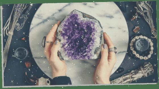 Using a Reiki Crystal