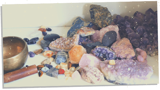 Cleaning Reiki crystals