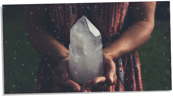Charging Reiki Crystals