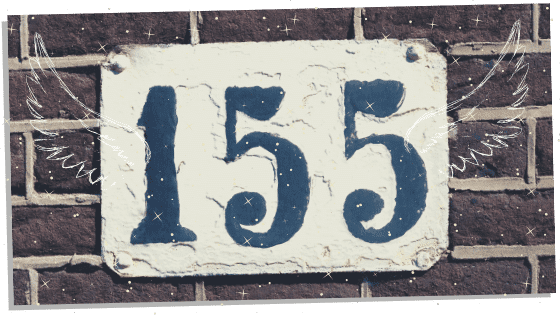 Twin Flame Number 155 On Sign