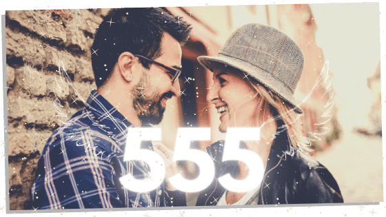 555 and twin flames together