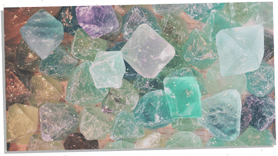 different colors of fluorite